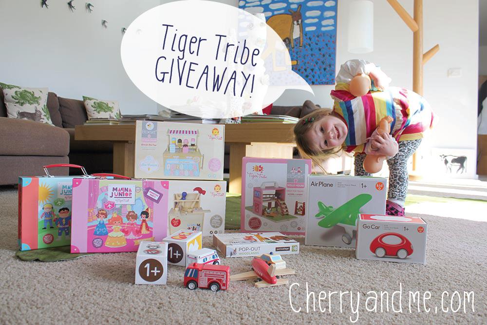 Tiger Tribe GIVEAWAY cherryandme.com