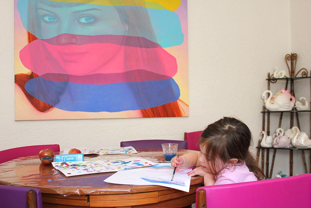 Rosh Hashana Card Making with Cherry www.cherryandme.com