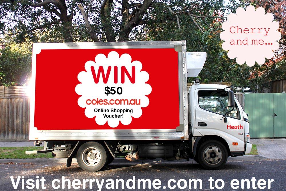 Coles Truck www.cherryandme.com