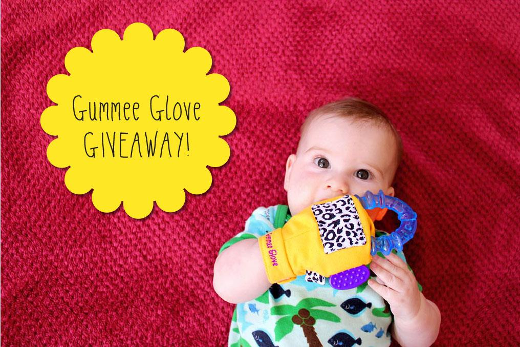 GIVEAWAY Gummee Glove cherryandme.com