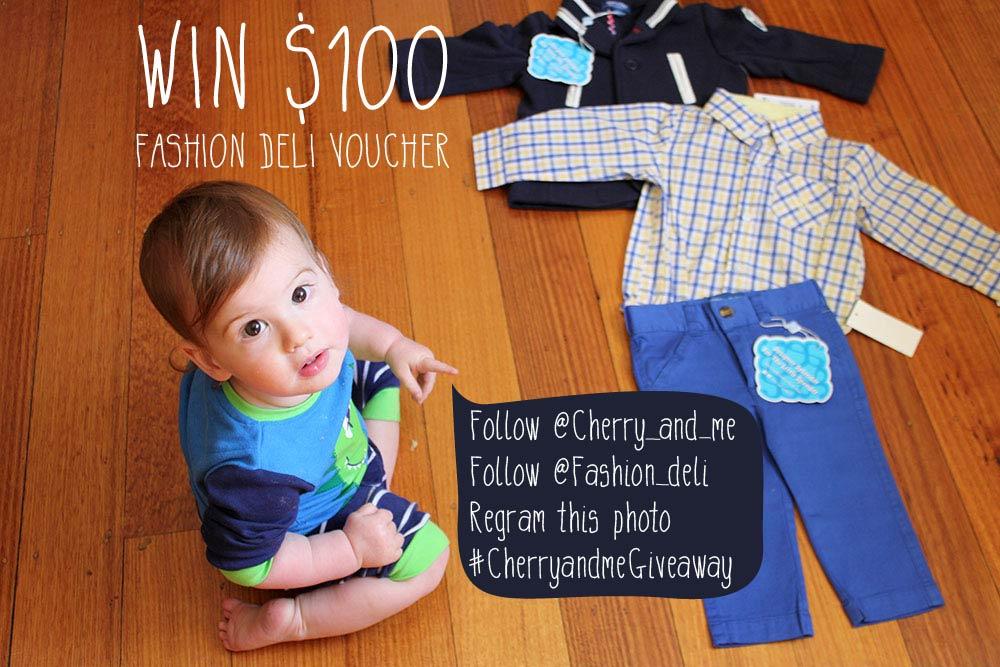 Fashion Deli GIVEAWAY www.cherryandme.com