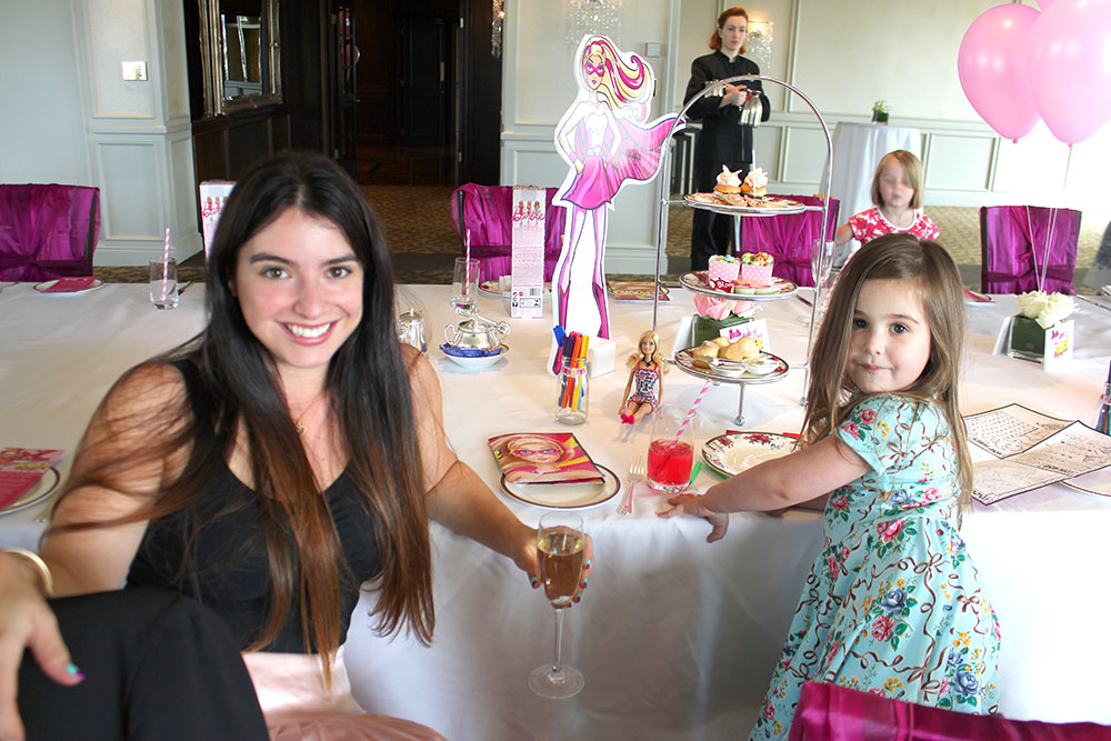 Barbie High Tea www.cherryandme.com