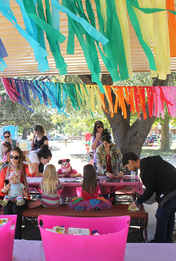 Rainbow Party www.cherryandme.com