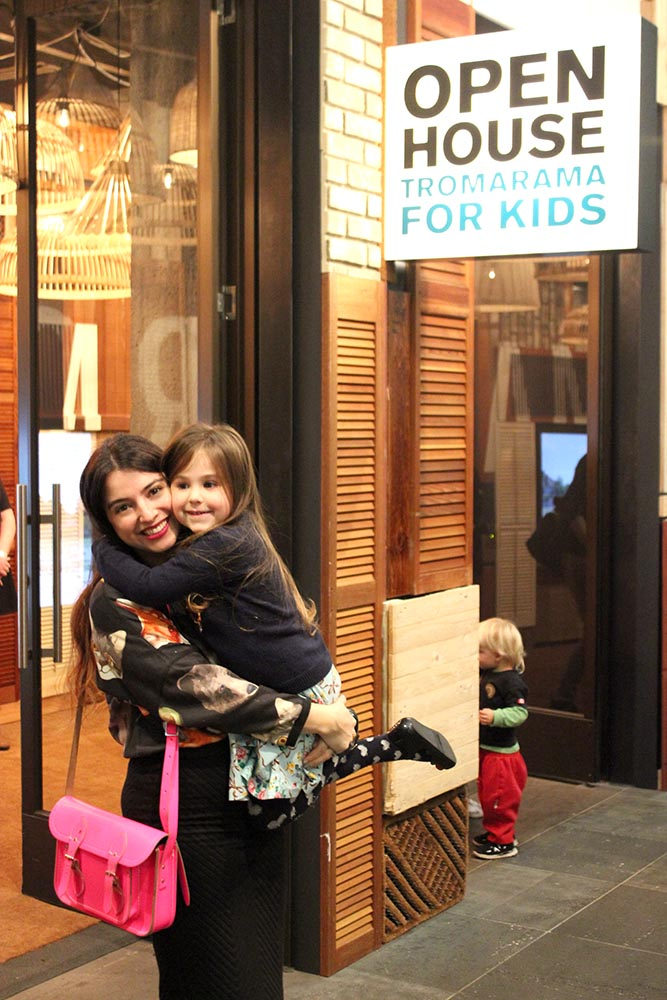 Open House: Tromarama for Kids www.cherryandme.com