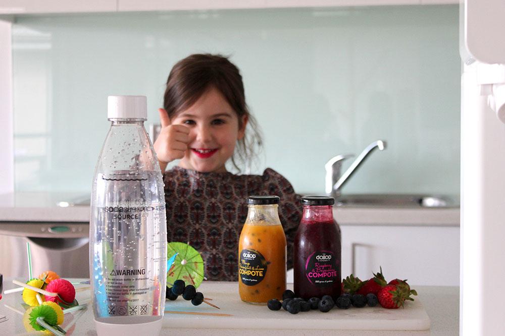 Fruity Tuity Mocktails SodaStream www.cherryand.com