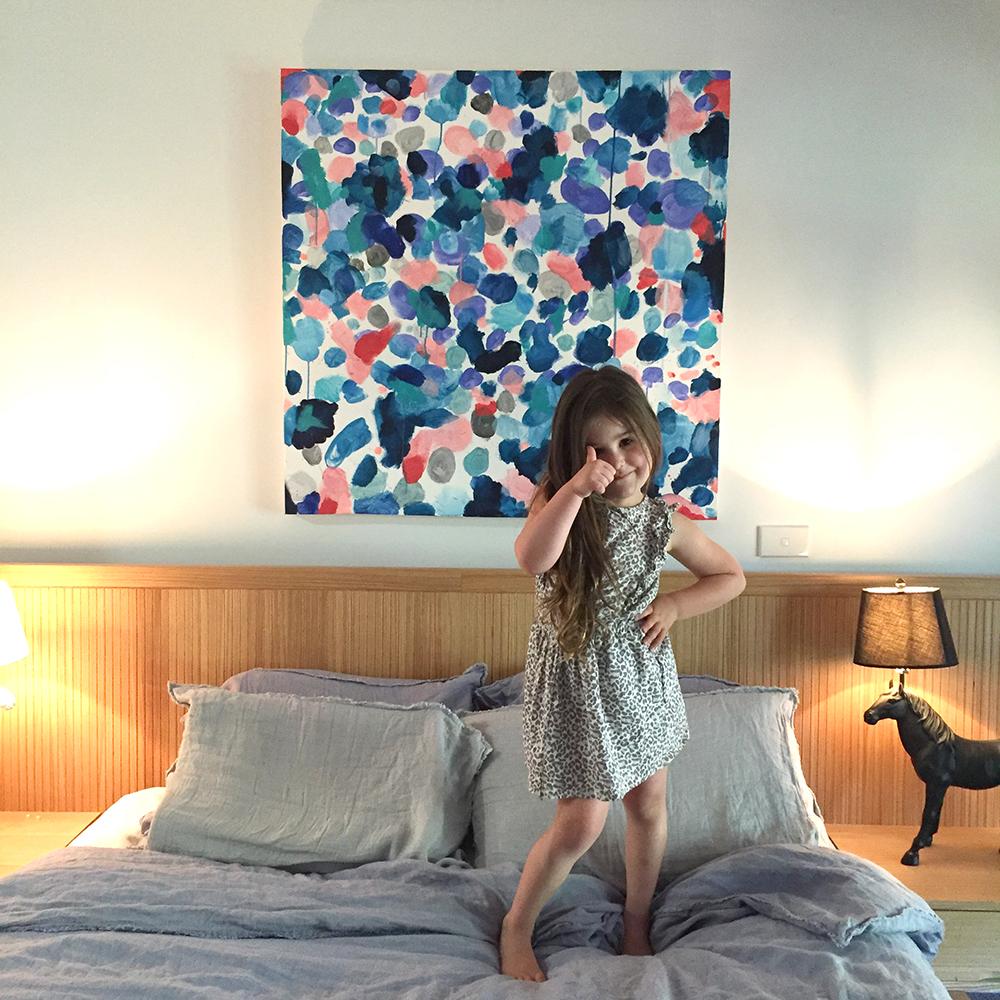 Hydrangea Bedroom cherryandme