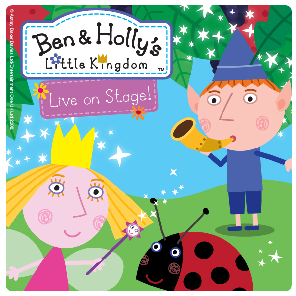 Ben & Holly Live on Stage www.cherryandme.com