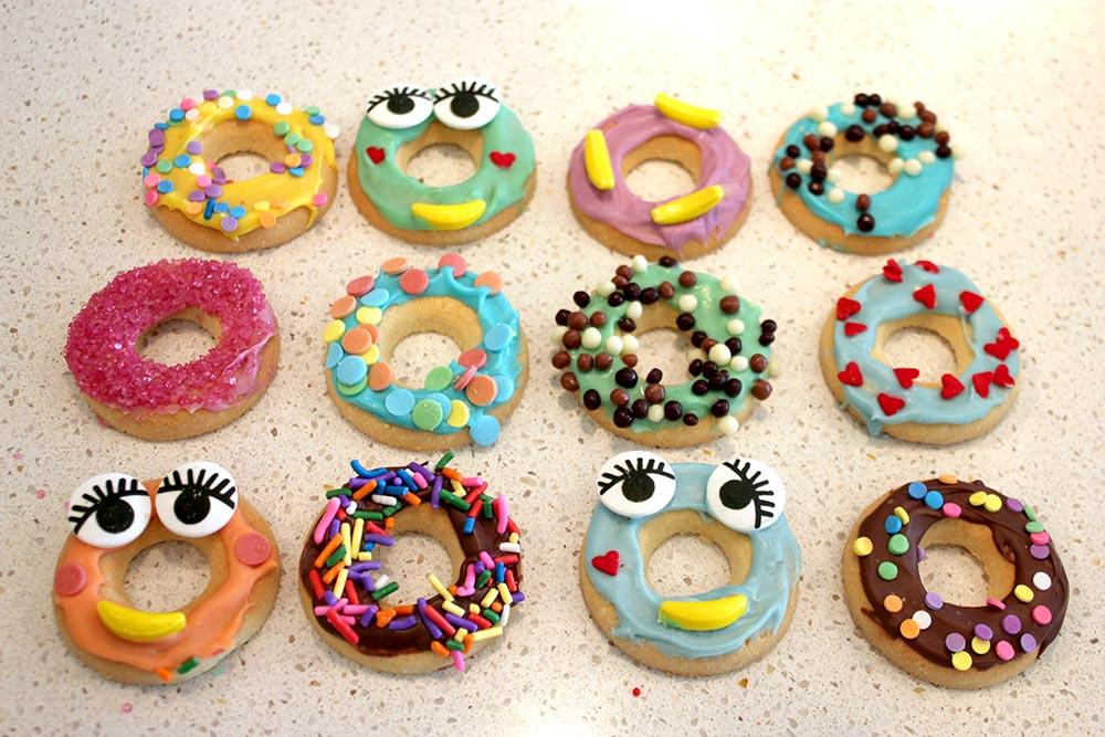 Gluten Free Donut Cookies www.cherryandme.com
