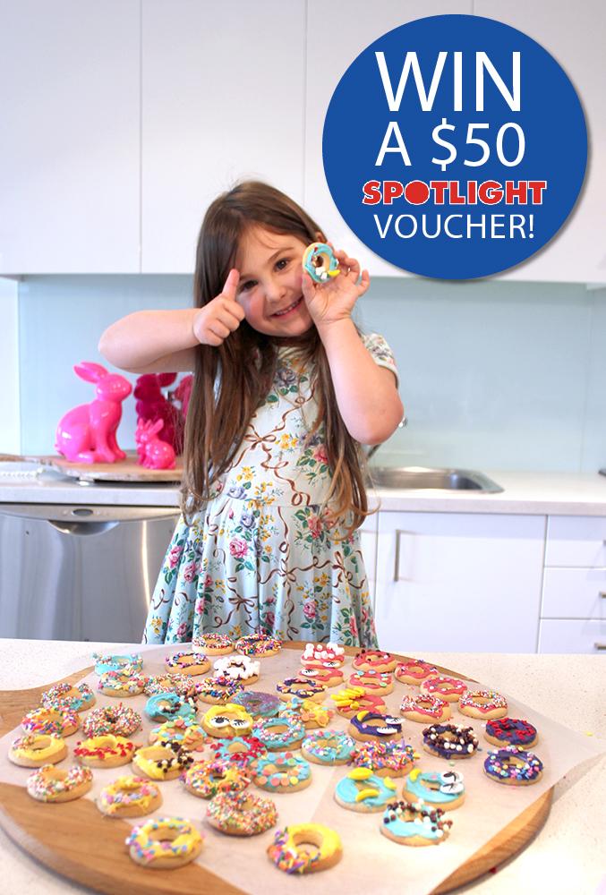 Spotlight Giveaway Gluten Free Donut Cookies www.cherryandme.com